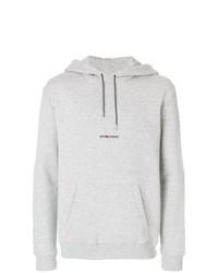 Sudadera con capucha gris de Saint Laurent