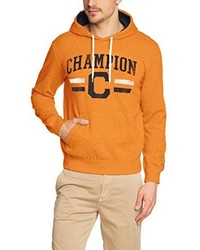 Sudadera con capucha naranja de Champion