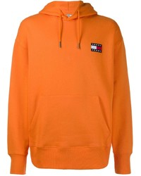 Sudadera con capucha naranja de Tommy Jeans