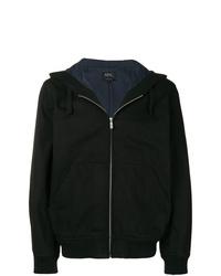 Sudadera con capucha negra de A.P.C.