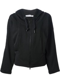 Sudadera con capucha negra de adidas by Stella McCartney