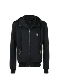 Sudadera con capucha negra de Dolce & Gabbana