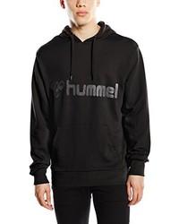 Sudadera con capucha negra de Hummel