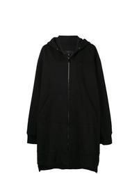 Sudadera con capucha negra de MM6 MAISON MARGIELA