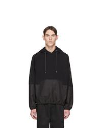 Sudadera con capucha negra de Neil Barrett