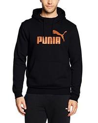 Sudadera con capucha negra de Puma