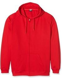 Sudadera con capucha roja de Urban Classics