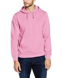 Sudadera con capucha rosada de Clique