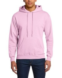 Sudadera con capucha rosada de Fruit of the Loom