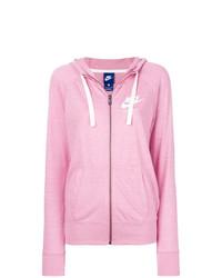 Sudadera con capucha rosada de Nike