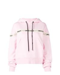 Sudadera con capucha rosada de Palm Angels