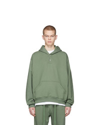 Sudadera con capucha verde oliva de Fear Of God