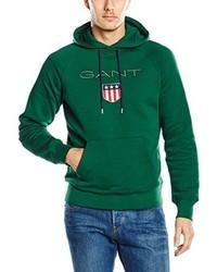 Sudadera con capucha verde de Gant