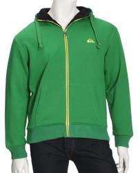 Sudadera con capucha verde de Quiksilver