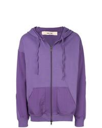Sudadera con capucha violeta claro de Damir Doma