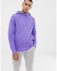 Sudadera con capucha violeta claro de Jack & Jones