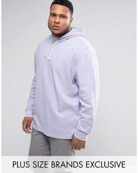 Sudadera con capucha violeta claro de Puma