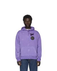 Sudadera con capucha violeta claro de Vyner Articles