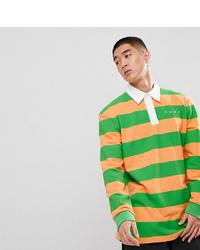 Sudadera de rayas horizontales verde de Puma