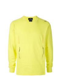 Sudadera en amarillo verdoso
