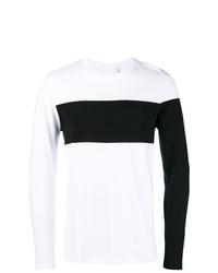 Sudadera en blanco y negro de Helmut Lang