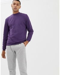Sudadera en violeta de Jefferson