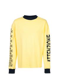 Sudadera estampada amarilla de Bethany Williams