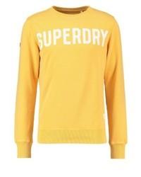Sudadera estampada dorada de Superdry