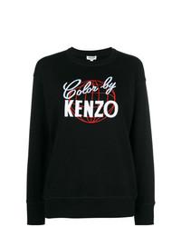 Sudadera estampada en negro y blanco de Kenzo