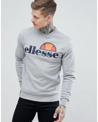 Sudadera estampada gris de Ellesse