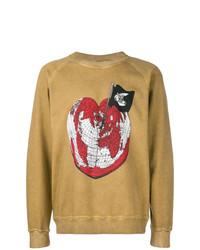 Sudadera estampada marrón claro de Vivienne Westwood Anglomania