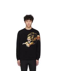 Sudadera estampada negra de Givenchy