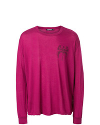 Sudadera estampada rosa de Adaptation
