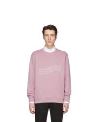 Sudadera estampada rosada de Givenchy