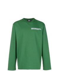 Sudadera estampada verde de Calvin Klein 205W39nyc