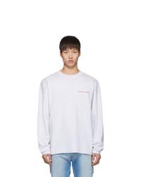 Sudadera gris de Alexander Wang