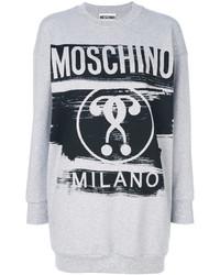 Sudadera gris de Moschino