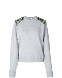 Sudadera gris de Saint Laurent