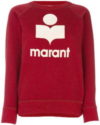 Sudadera roja de Etoile Isabel Marant