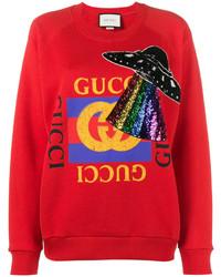 Sudadera roja de Gucci