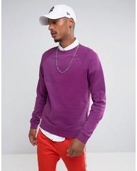 Sudadera violeta claro de Asos