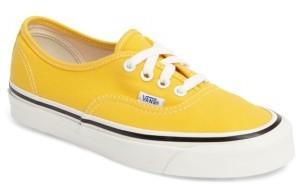 tenis vans amarillos