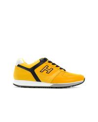 Tenis amarillos de Hogan