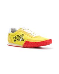 Tenis amarillos de Kenzo