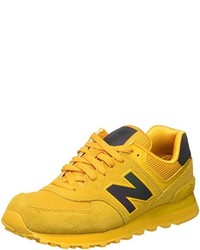 Cubeta prisión correr  tenis new balance amarillo - Tienda Online de Zapatos, Ropa y Complementos  de marca