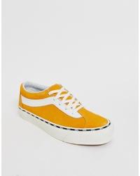 Tenis amarillos de Vans