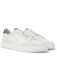 Tenis blancos de Brunello Cucinelli