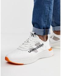 Tenis blancos de Calvin Klein