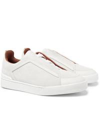 Tenis blancos de Ermenegildo Zegna