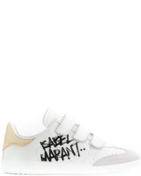 Tenis blancos de Etoile Isabel Marant